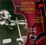 BARTOK - Stern - Sonate pour violon et piano n°1 op.21 Sz.75