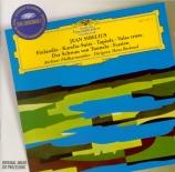 SIBELIUS - Rosbaud - Finlandia, poème symphonique pour orchestre op.26