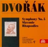 DVORAK - Sejna - Symphonie n°5 en fa majeur op.76 B.54