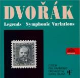 DVORAK - Sejna - Dix légendes op.59, version pour piano (quatre mains) B