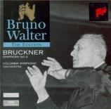 BRUCKNER - Walter - Symphonie n°9 en ré mineur WAB 109