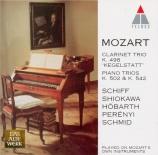 MOZART - Schiff - Trio pour piano et cordes n°4 en si bémol majeur K.502
