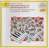 CHOPIN - Berman - Deux polonaises pour piano op.26