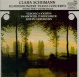 SCHUMANN-WIECK - Jochum - Concerto pour piano et orchestre en la mineur