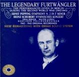 PEPPING - Furtwängler - Symphonie n°2