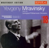 TCHAIKOVSKY - Mravinsky - Symphonie n°4 en fa mineur op.36 Edition Mravinsky Vol.18