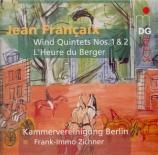 FRANCAIX - Kammervereinigu - Quintette à vents n°1