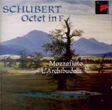 SCHUBERT - Archibudelli - Octuor en fa majeur pour cordes et vents op.po