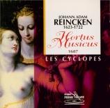 REINCKEN - Cyclopes (Les) - Hortus Musicus à 2 violons, viole et basse c
