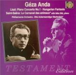 LISZT - Anda - Concerto pour piano et orchestre n°1 en mi bémol majeur S