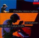 PROKOFIEV - Mustonen - Visions fugitives pour piano op.22