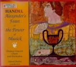 HAENDEL - Deller - Alexander's feast, masque HWV.75