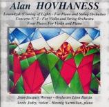 HOVHANESS - Werner - Concerto pour piano et cordes op.48 'Lousadzak'
