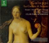 GALUPPI - Scimone - La caduta di Adamo (La chute d'Adam)
