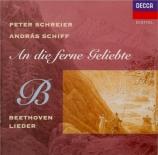 BEETHOVEN - Schreier - Maigesang, lied pour voix et piano op.52 n°4