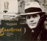 GUASTAVINO - Chaminé - Mélodies