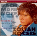 RACHMANINOV - Kocsis - Sonate pour piano n°2 en si bémol mineur op.36