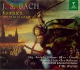 BACH - Werner - Es erhub sich ein Streit, cantate pour solistes, chœur e
