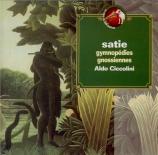 SATIE - Ciccolini - Six gnossiennes