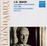 BACH - Leonhardt - Variations Goldberg, pour clavier BWV.988