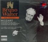 MOZART - Walter - Symphonie n°38 en ré majeur K.504