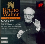 MOZART - Walter - Symphonie n°25 en sol mineur K.183 (K6.173dB)