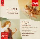 BACH - Gönnenwein - Herz und Mund und Tat und Leben, cantate pour solist