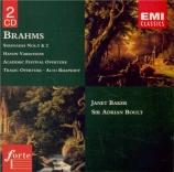 BRAHMS - Boult - Akademische Festouvertüre (Ouverture pour un festival a