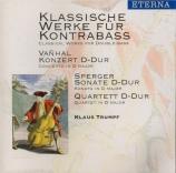 Klassische Werke für Kontrabass