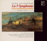 Les 9 symphonies de Beethoven transcrites pour piano par Franz Liszt