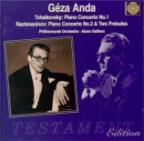 TCHAIKOVSKY - Anda - Concerto pour piano n°1 en si bémol mineur op.23