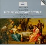 Tafelmusik : Trios & Quartette