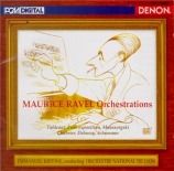 Maurice Ravel orchestrations