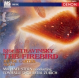 STRAVINSKY - Stern - L'oiseau de feu, suite symphonique pour orchestre
