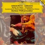 HINDEMITH - Abbado - Nobilissima visione