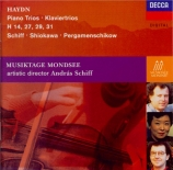 HAYDN - Schiff - Trio avec clavier n°45 en mi bémol majeur op.86 n°3 Hob