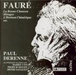 FAURE - Derenne - Clair de lune, mélodie pour voix et piano op.46 n°2