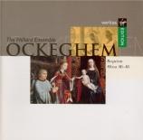 OCKEGHEM - Hilliard Ensemb - Requiem