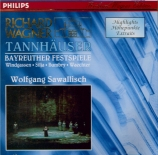 WAGNER - Sawallisch - Tannhäuser WWV.70 : extraits