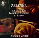 ZELENKA - Zefiro Ensemble - Sonate en trio pour deux hautbois, basson et