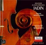 JADIN - Quatuor Mosaïqu - Quatuor à cordes en mi bémol majeur op.2 n°1
