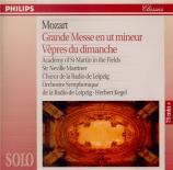 MOZART - Marriner - Messe en ut mineur, pour solistes, chœur et orchestr