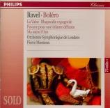 RAVEL - Monteux - Ma mère l'oye, musique de ballet pour orchestre