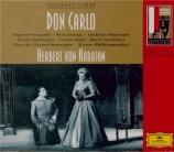VERDI - Karajan - Don Carlo, opéra (version italienne)