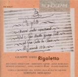 VERDI - Molajoli - Rigoletto, opéra en trois actes