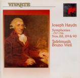 HAYDN - Weil - Symphonie n°88 en do majeur Hob.I:88