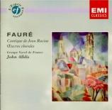 FAURE - Alldis - Cantique de Jean Racine, pour choeur mixte et piano ou o