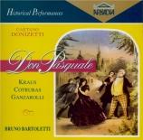 DONIZETTI - Bartoletti - Don Pasquale (Live Chicago 2 - 11 - 1974) Live Chicago 2 - 11 - 1974