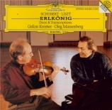 Erlkönig (duos & transcriptions)