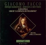 FACCO - Albalonga - Festejo harmonico, sérénade à trois voix